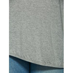 Long Sleeve V Neck T Shirt -