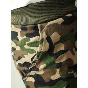 Camouflage M Single Pocket Back Camo Drawstring Army Jogger Pants