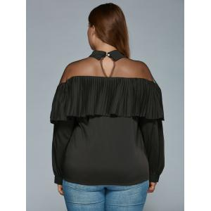 Overlay See Through Blouse -