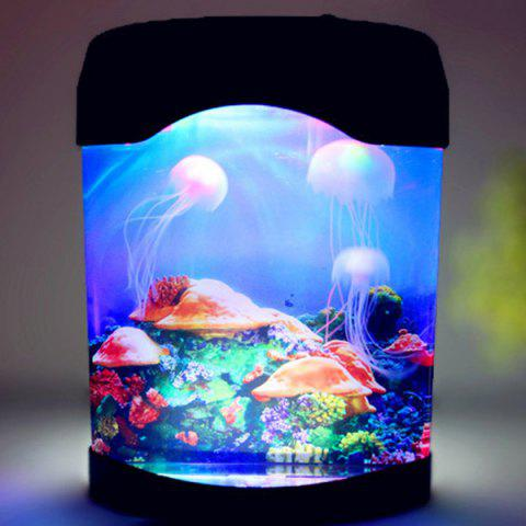 Unique LED MultiColor Sea World Swimming Jellyfish Lamp Night Light - COLORMIX  Mobile
