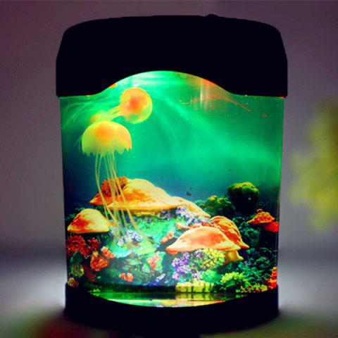 Trendy LED MultiColor Sea World Swimming Jellyfish Lamp Night Light - COLORMIX  Mobile