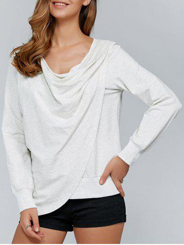 Fashion Asymmetrical Sweatshirt