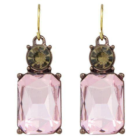 Fashion Rhinestone Charming Perfume Bottle Earrings