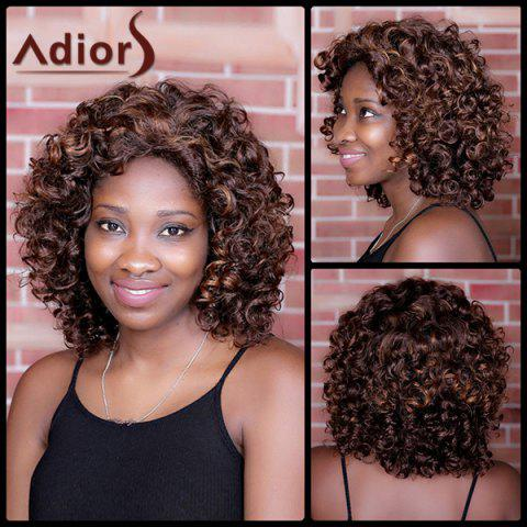Best Adiors Long Colormix Curly Synthetic Wig COLORMIX