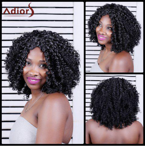Shops Adiors Long Shaggy Curly Middle Parting Synthetic Wig
