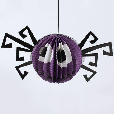 Cheap Halloween Party Supply Spider Paper Hanging Lantern Decoration