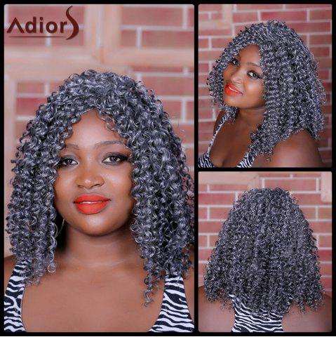 Hot Adiors Long Curly Middle Parting Synthetic Wig