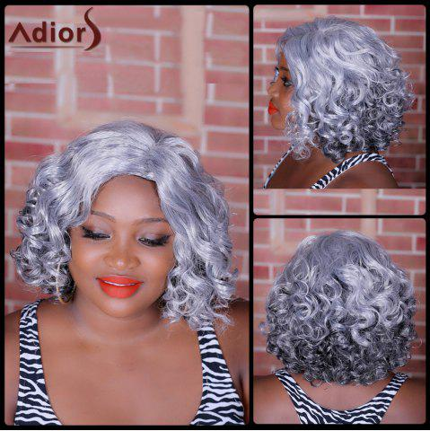 Chic Adiors Highlight Medium Side Parting Curly Synthetic Wig COLORMIX