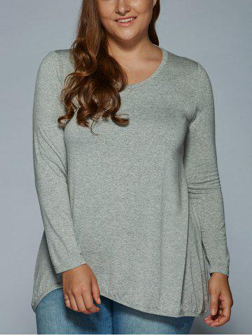 Discount Long Sleeve V Neck T Shirt