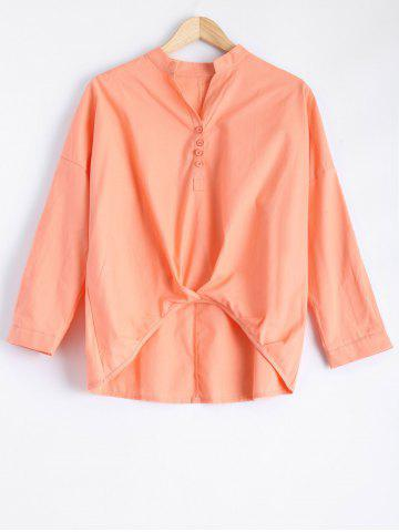 Buy Long Sleeve High Low Blouse