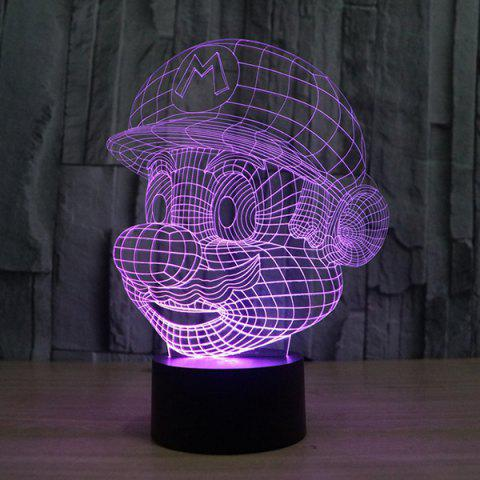 Fancy 3D Color Changing Visual Touching Ombre LED Night Light - COLORFUL  Mobile