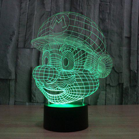 Unique 3D Color Changing Visual Touching Ombre LED Night Light - COLORFUL  Mobile