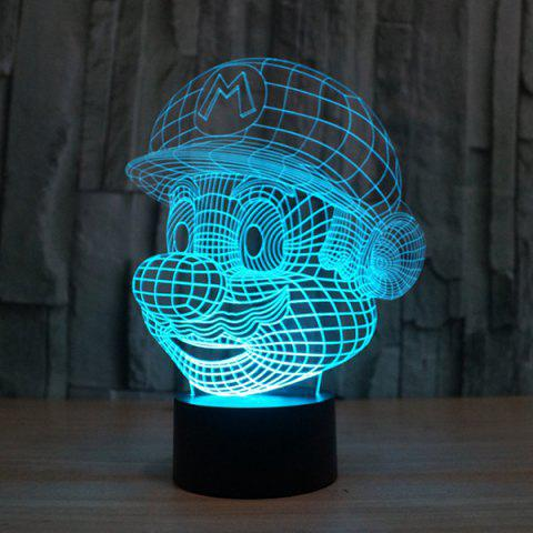Affordable 3D Color Changing Visual Touching Ombre LED Night Light - COLORFUL  Mobile