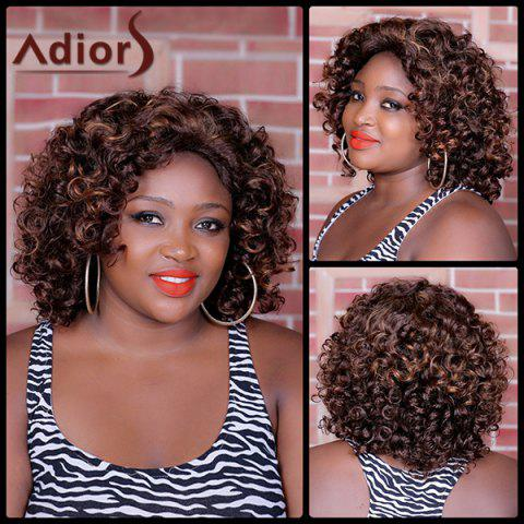 Affordable Adiors Long Highlight Curly Synthetic Wig
