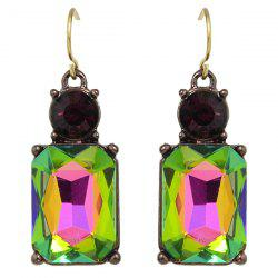 Rhinestone Charming Perfume Bottle Earrings