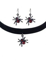 Spider Halloween Jewelry Set