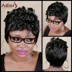 Adiors Short Fluffy Curly High Temperature Fiber Wig -