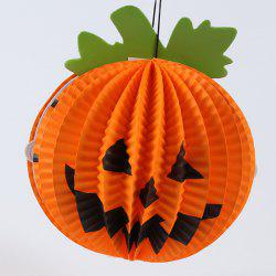 Halloween Party Decoration Supply Pumpkin Shape Hanging Lantern