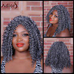 Adiors Long Curly Middle Parting Synthetic Wig - COLORMIX