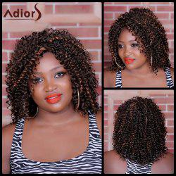 Adiors Medium Side Parting Curly Synthetic Wig