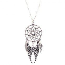 Cobweb Angel Wings Necklace