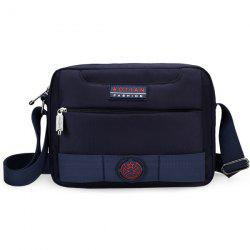 Zip Nylon Dark Colour Crossbody Bag