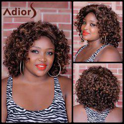 Adiors Long Highlight Curly Synthetic Wig