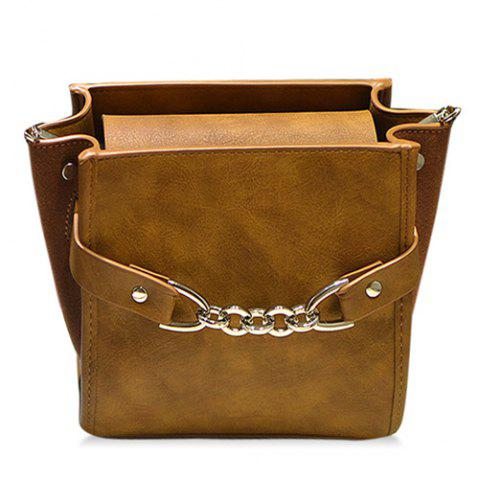 Affordable Fake Leather Shoulder Bag