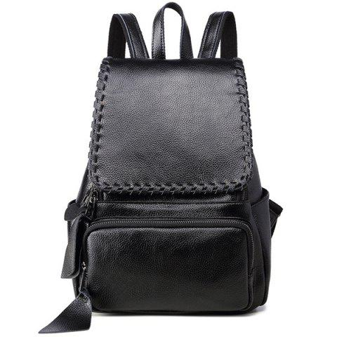 Discount Stitch Whip Flap Backpack