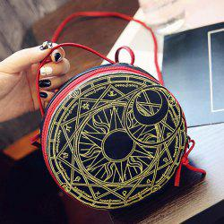 Mini Round Shape Crossbody Bag -