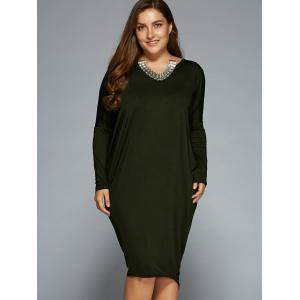 Loose Hollow Out Asymmetric Dress