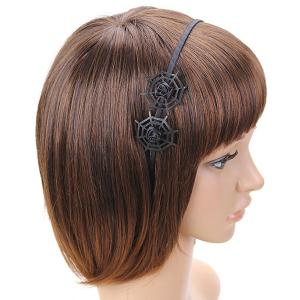 Double Spider Web Gothic Hairband