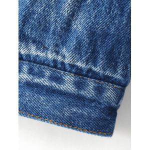 Single Breasted Jeans Jacket -