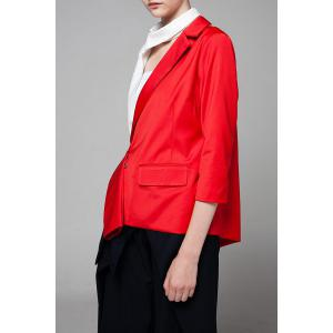 Asymétrique Color Block Blazer -