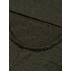 Cowl Neck Asymmetrical Sweatshirt -