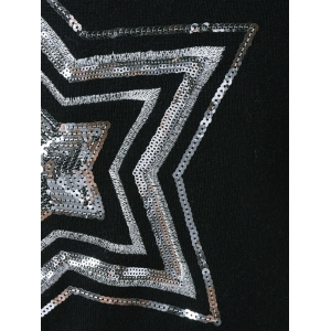 Star Sequined Knitwear -