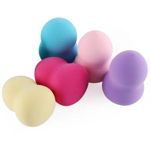 5 Pcs Gourd Shape Beauty Blender - Multicolore