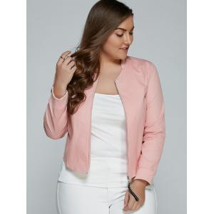 Plus Size Relaxed Thin Jacket -
