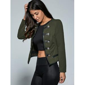 Double-Breasted Jacket -