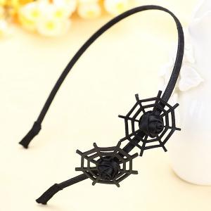 Double Spider Web Gothic Hairband -