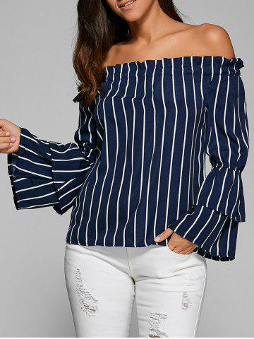 Shop Tiered Ruffle Sleeve Off Shoulder Top