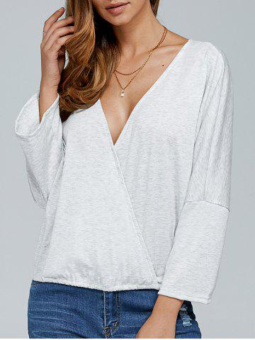 Outfit Long Sleeve Surplice Top