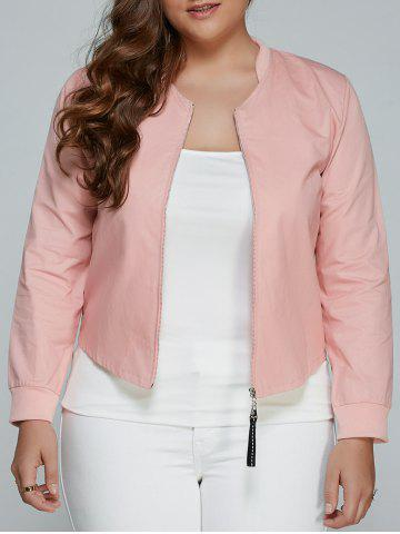 Store Plus Size Relaxed Thin Jacket