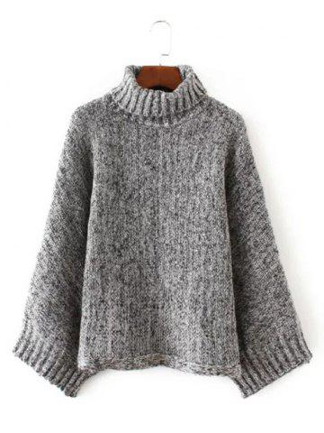 Outfits Turtle Neck Pullover Knit Sweater