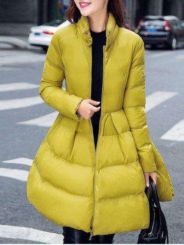 Hot Fit and Flare Puffer Coat