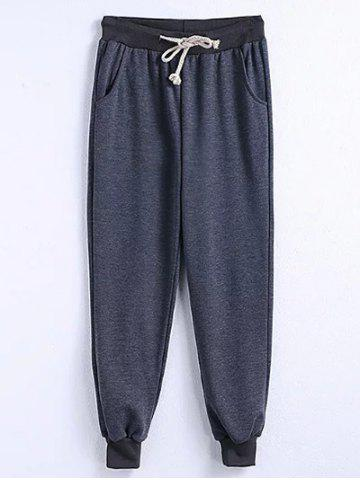Sale Drawstring Plus Size Big and Tall Jogger Pants