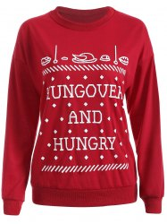 Streetwear Christmas Graphic Sweatshirt