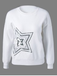 Star Sequined Knitwear