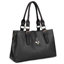 Braided Buckle Strap ToteBag