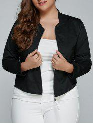 Plus Size Relaxed Thin Jacket